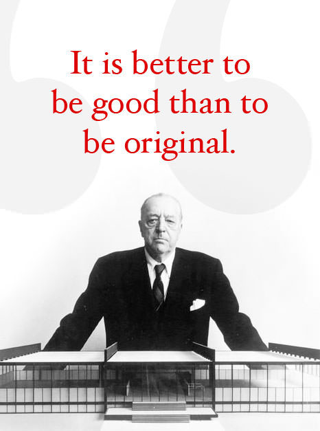 mies van der rohe quotes quotesgram. Black Bedroom Furniture Sets. Home Design Ideas